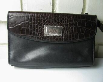 Vintage Brighton style leather wallet purse