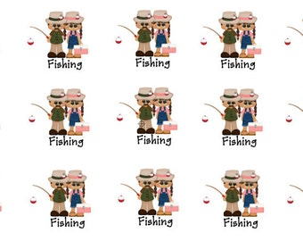 Going Fishing Planner Stickers