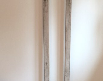 Antique Cow Stanchion/Mirror Frame