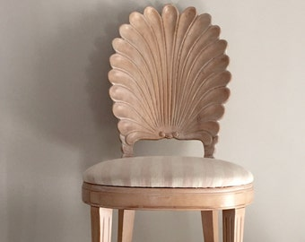 Seashell Back Chair