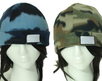 Pkmn Camo Cap - Kalos Trainer Customization Hat for Cosplay - Aqua or Olive