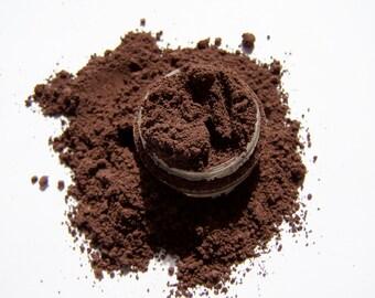 Mineral Makeup - Brown / Black Brow Color - Vegan Brow Color - Mineral Brow Color - Brow Filler Powder