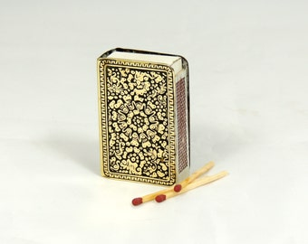 Vintage Matchbox Holder Matchbox Cover
