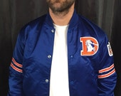 Denver Broncos satin jacket starter proline