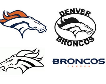 Denver Broncos Decal/RTIC YETI  Car Decal, Computer Decal, Window Decal, Cell Phone Decal