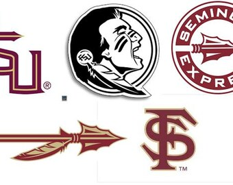 FSU Florida State Seminoles Decal/RTIC YETI  Car Decal, Computer Decal, Window Decal, Cell Phone Decal