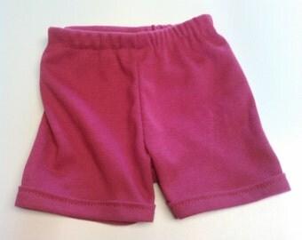 Handmade Baby Stretch Knit Shorts - Newborn to 36 months