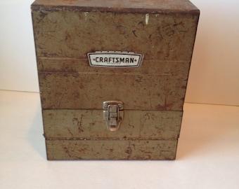 Vintage Craftsman Tool Box Storage Sears