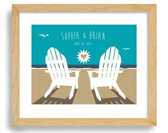 Beach wedding gift | Etsy
