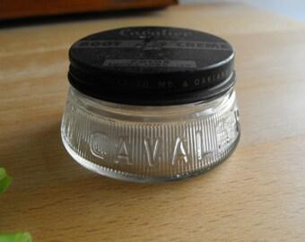 Vintage Cavalier Boot Creme jar