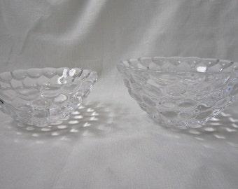 Midcentury Orrefors Bowls, Pair