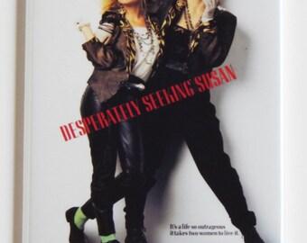 Desperately Seeking Susan Movie Poster Fridge Magnet