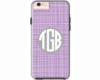 Custom iPhone 7 or iPhone 7 Plus Cases | Personalized Case Mate Tough or Barely There cases iPhone 6, iPhone 6 Plus  & More - Crosshatch