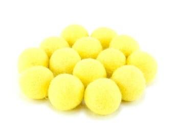 Yellow Felt Ball Slingshot Ammo