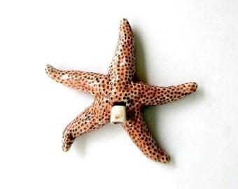 Starfish Clay Whistle