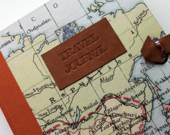 travel journal - blank or lined pages - PERSONALISE IT!