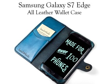 Galaxy S7 Edge Leather Phone Case Wallet / phone case / samsung galaxy case / leather phone cover / samsung galaxy s7 edge case