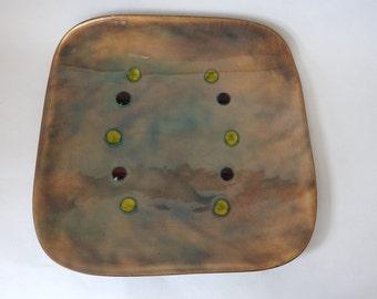 Bovono Enamel Decorative Plate