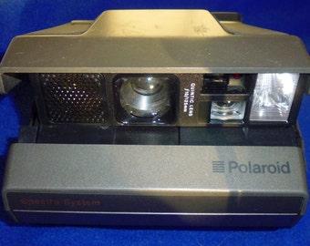 Polaroid Spectra System Camera, Quintic, 125mm lens,1200 film, vintage camera, self timer camera