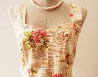 SALE Romantic Womens Dresses Summer Dress Plus Size dress tea party dress sundress vintage inspired dress  -XS-XL,Custom