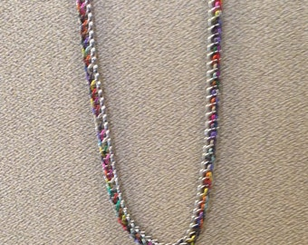 Rainbow full persian necklace