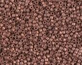 MIYUKI DELICA BEAD, 11/0 Matte Copper Plated, DB0340, 5g, 10g, 15g, 20g Delica Beads