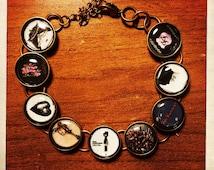 Foo Fighters album cover bracelet