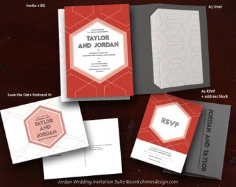 JORDAN Invitation Suite Printables