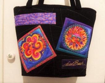 Laurel Burch Tote Bag - Handmade Tote Bag - Suns & Moons Tote Bag - Tote Bag - Laurel Burch Print - Handbag Tote Bag - Market Tote Bag