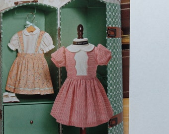 "Vintage 18"" Doll Clothes Simplicity Pattern 1244"