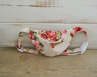 Fanny Pack - Hip Bag - Women and Teen Girls Hip Pouch - Shabby Chic Flowers