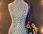 Purple Glitter Skate Noose - Roller Skate Accessory (1.25 inch)