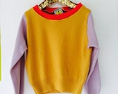 SOFTIE 4-5 Years Kids Childrens Cashmere Jumper Top Sweater in Upcycled Cashmere Unisex A
