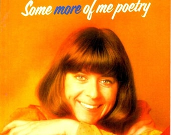 ON SALE On Sale  - Pam Ayres - Some more of me Poetry - Book 1970s Vintage