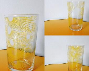Vintage Yellow Glass