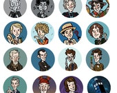 Doctor Who 1 inch Button