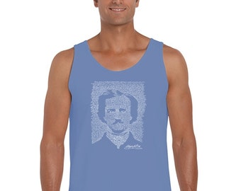 Men's Tank Top - Edgar Allen Poe - The Raven