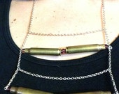 Confirmed Kills Bullet Casing Statement Necklace 19
