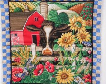 Farm Scene Quilt Etsy