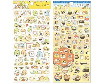 Diary Scrapbook Sticker Sumikko Gurashi Meal Gathering Sushi Meal
