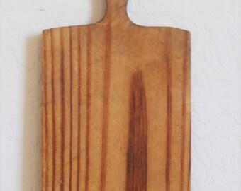 Antique Primitive Lollipop Cutting Board - American