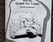Waffles and the Quest for Toast comic