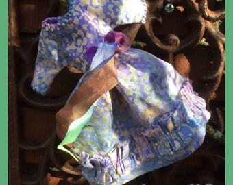 Blythe Dress Batik Lavender