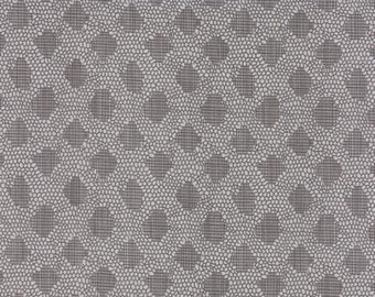 Behind The Scenes by Jen Kingwell Designs for Moda - Lacey - Grey - White Rhino - FQ - Fat Quarter - Cotton Quilt Fabric 415