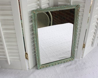 Rustic mirrored tray- Free Shipping