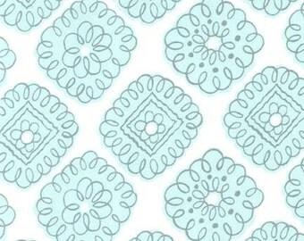 Maybelle (Aqua) - Whisper Collection - Michael Miller Fabrics - 1 Yard