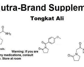 Tongkat ali, longjack (limited time) capsules 730mg  key 48bg