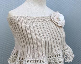 Wedding shawl, Shawl,  Bridal shawl,  Wedding accessories,  Bridal accessories,  Bridesmaid gift,  Knitting shawl,  Wedding wrap