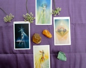 RELATIONSHIP SPREAD Four Card Tarot or Oracle Reading - Divination