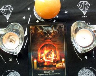 ONE CARD Halloween Oracle Reading - Seasonal Divination